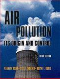 Air Pollution : Its Origin and Control, Wark, Kenneth and Davis, Wayne T., 0673994163