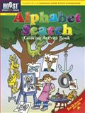 BOOST Alphabet Search Coloring Activity Book, Larry Daste, 0486494160