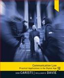 Communication Law, Caristi, Dominic G. and Davie, William R., 0205504167