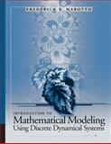 Introduction to Mathematical Modeling Using Discrete Dynamical Systems, Marotto, Frederick R., 0495014176