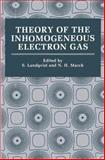 Theory of the Inhomogeneous Electron Gas, , 1489904174