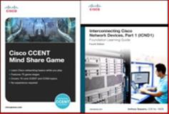 Cisco CCENT Mind Share Game and Interconnecting Cisco Network Devices, Part 1 (ICND1) Bundle, Cisco Systems, Inc., Inc. and Sequeira, Anthony, 1587144174