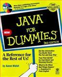 Java for Dummies, Aaron E. Walsh, 0764504177