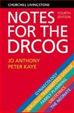 Notes for the DRCOG, Anthony, Jo and Kaye, Peter, 0443064180