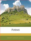 Poems, Minot Judson Savage, 114108418X
