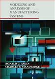 Modeling and Analysis of Manufacturing Systems, Askin, Ronald G. and Standridge, Charles R., 0471514187