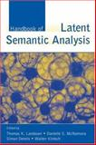 Handbook of Latent Semantic Analysis, , 0805854185