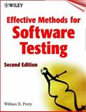 Effective Methods for Software Testing, Perry, William E., 047135418X