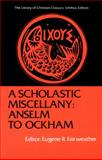 A Scholastic Miscellany 9780664244187