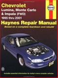 Chevrolet Lumina, Monte Carlo and Front Wheel Drive Impala, 1995-2001, Kibler, Jeff and Storer, Jay, 1563924188