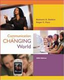 Communication in a Changing World with Student CD-ROM 2. 0 and PowerWeb, Dobkin, Bethami A. and Pace, Roger, 0073194182