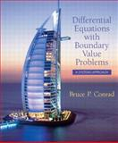 Differential Equations with Boundary Value Problems 9780130934192