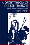 A Daoist Theory of Chinese Thought 9780195134193