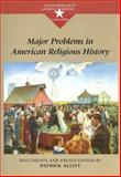 Major Problems in American Religious History 9780395964194
