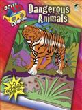 3-D Coloring Book--Dangerous Animals, Jan Sovak, 048648419X