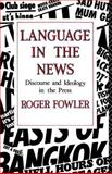 Language in the News, Roger Fowler, 0415014190