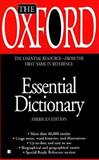 The Oxford Essential Dictionary, Oxford University Press Staff, 0425164209