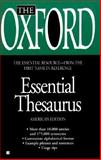 Oxford Essential Thesaurus, Oxford University Press Staff, 0425164217