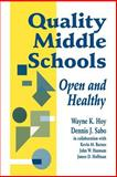 Quality Middle Schools : Open and Healthy, Sabo, Dennis J. and Barnes, Kevin M., 0803964218