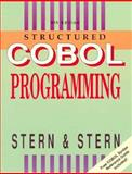 Structured Cobol Programming with Syntax Guide, Stern, Nancy B., 0471524212