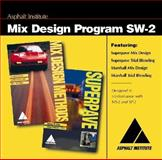 SW-2 Mix Design Program CD, Institute, Asphalt, 1934154210