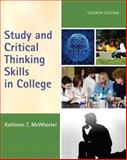 Study and Critical Thinking Skills in College Plus NEW MyStudentSuccessLab -- Access Card Package, McWhorter, Kathleen T., 0134044215
