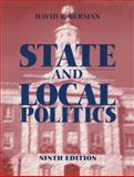 State and Local Politics, Berman, David, 0765604213