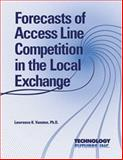 Forecasts of Access Line Competition in the Local Exchange, Vanston, Lawrence K., 1884154212