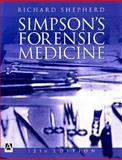 Simpson's Forensic Medicine, Shepherd, Richard, 0340764228