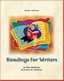 Readings for Writers (School Binding), McCuen-Metherell, Jo Ray, 0030644224