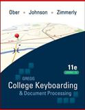 GREGG College Keyboarding and Document Processing, Ober, Scot and Johnson, Jack E., 0077344227