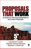 Proposals That Work : A Guide for Planning Dissertations and Grant Proposals, Locke, Lawrence F., 1412924227