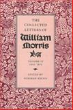 Collected Letters of William Morris, Morris, William, 0691044228