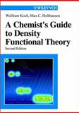 A Chemist's Guide to Density Functional Theory, Koch, Wolfram and Holthausen, Max C., 3527304223