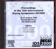 Proceedings of the 12th International Drying Symposium IDS 2000, the Netherlands, 28-31, August 2000 9780444504227