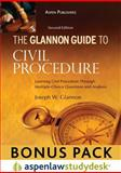 The Glannon Guide to Civil Procedure, Glannon, Joseph W., 0735594228