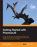 Getting Started with PhantomJS, Aries Beltran, 1782164227