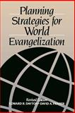 Planning Strategies for World Evangelization, Dayton, Edward R. and Fraser, David A., 0802804225