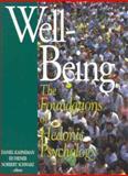 Well-Being, Daniel Kahneman, 0871544237