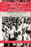 Body of Power, Spirit of Resistance : The Culture and History of a South African People, Comaroff, Jean, 0226114236