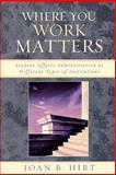 Where You Work Matters, Joan B. Hirt, 0761834230