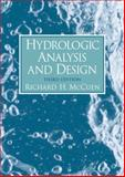 Hydrologic Analysis and Design, McCuen, Richard H., 0131424246