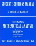 Student's Solutions Manual, Wood, R. J. F., 0132404249