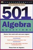 501 Algebra Questions, William Recco, 1576854248