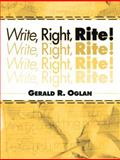 Write, Right, Rite!, Oglan, Gerald R., 0205344240