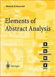 Elements of Abstract Analysis, Ó Searcóid, Mícheál, 185233424X