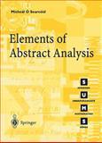 Elements of Abstract Analysis, Ó Searcóid, Mícheál, 185233424X