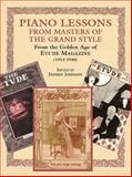 Piano Lessons from Masters of the Grand Style, , 0486424243