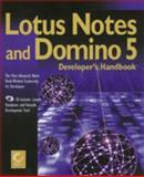 Lotus Notes and Domino 5 Developer's Handbook, Richards, Cate, 0782124240