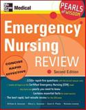 Emergency Nursing Review : Concise - Rapid - Effective, Gossman, William and Gossman, Sheryl L., 0071464255